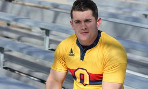 Brendan Sloan was a forward on three straight OUA men's rugby championship teams.
