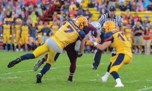 Morgan played just two games this past year for the Gaels due to academic ineligibility.
