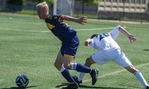 Jacob Schroeter (left) has been one of the Gaels top performers this season.