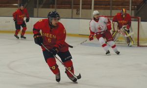 Darcy Greenaway led the Gaels in goals last season with 16.