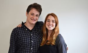 Pamela Simpson and Justin Taub, ArtSci '17, teamed up to create the mobile app Politips.