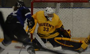 Goalie Caitlyn Lahonen leads the OUA with a 0.48 goals against average.