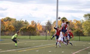 The Gaels season ended against the University of Toronto following their 1-0 defeat.