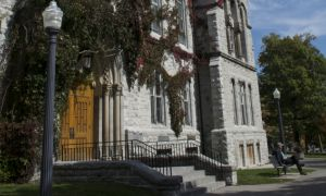Theological Hall was built in 1879 and is the third oldest building on campus. It houses the School of Religion.