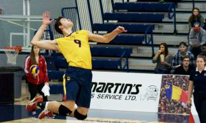 In his first year for the Gaels, Marko Dakic leads the OUA in both kills per set and hitting percentage.