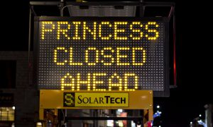 Construction on Princess St. began on Jan. 4.