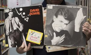 """Bowie's music was originally reserved for CFRC's evening programme """"Nocturne."""""""