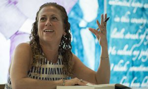 "American author Jodi Picoult has written nearly two dozen successful  novels, but is often branded as a writer of ""airport fiction."""
