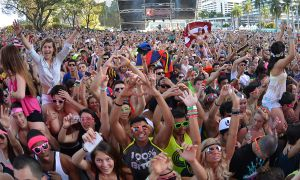 Drug use is a common part of the music festival experience.
