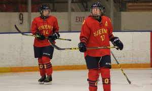 Considered an early season title favourite, women's hockey exited the playoffs without winning a game.