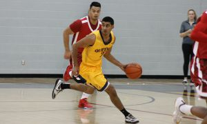Sukhpreet Singh averaged 14.5 points over two playoff games, tying him for the team lead.