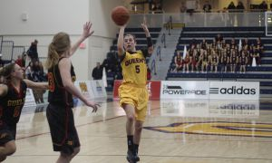 Last year Emily Hazlett averaged 10.5 points and 2.0 steals per game.