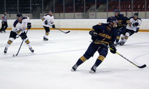 Queen's beat Laurier in shootout, placing themselves fifth in the OUA East.