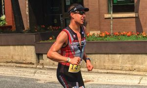 Ben Rudson began running triathlons in 2014.