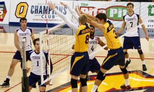 The men's volleyball beat the University of Toronto 3-1 on the weekend.