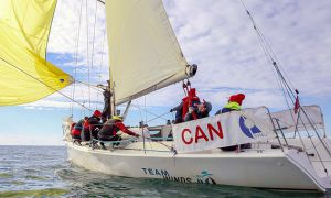 Queen's is the first Canadian team in history to win the Student Yachting World Cup.