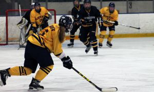 Claire McKellar scored the overtime wining goal on Saturday.