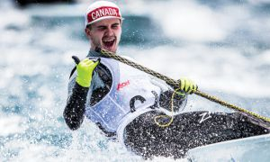 Matti Muru at the Youth Sailing World Championships.
