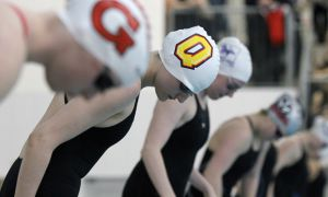 The swim team will next compete at the winter invitational at U of T this weekend.