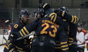 Men's hockey is currently ranked seventh in Canada.