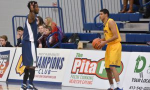 Sukhpreet Singh is now the Queen's all-time leading scorer with 1345 points.