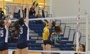 Queen's women's volleyball faces their next text on Saturday and Sunday.