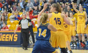 Robyn Pearson scored nine points and added 10 rebounds in the win against Cape Breton.
