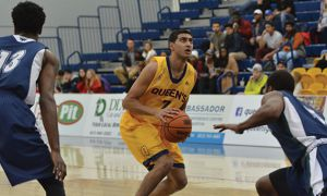 Sukhpreet Singh is Queen's all-time leading scorer.