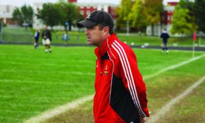 McDowell has coached the women`s soccer team since 1988.