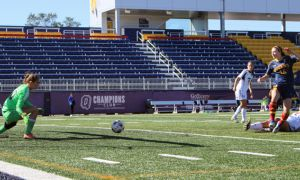 The Gaels scored a combined 12 goals over their two games this weekend.