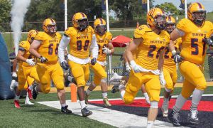 Men's football got their first win last week.