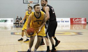 Mike Shoveller is third in the OUA this season in blocks with 32.