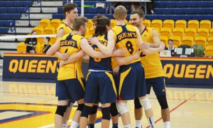 Men's volleyball are 6-6 this season.
