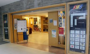 The AMS offices is in the JDUC.