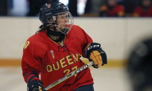 Katrina Manoukarakis leads the OUA in goals with 15.
