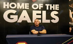 Pat Sheahan said the Gaels have a positive mindset going into their last two games of the regular season.