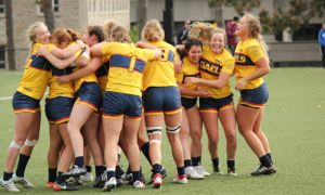 Queen's women's rugby team triumphed over McMaster 29-24 in the OUA semi-final on Saturday.