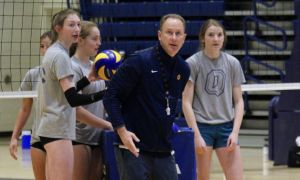 Head coach Ryan Ratushniak is heading into his second season with the women's team.