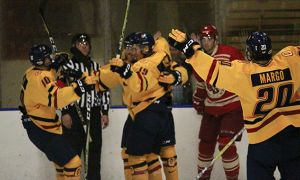 The men's hockey team is currently 11-3-0.