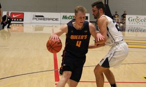 Third year Harry Range said the men's basketball team is looking for consistency as they move into the playoffs.