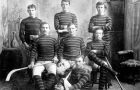 When the OHA began in 1890, Queen's was among the first teams to play. Pictured here is the men's team from the 1893-94 season.