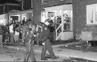 Police compared Frosh Week party to Homecoming, above.