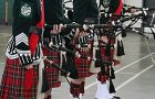 Queen's pipe band, a competitive branch of Queen's Bands, won four regional titles last year.