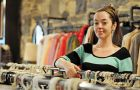 Era Modern Vintage manager Karli Heeney says shopping vintage saves money and helps the planet.