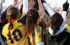 The women's soccer team celebrates their CIS Championship with the Gladys Bean Memorial Trophy over the weekend in Charlottetown. The Gaels beat the Wilfrid Laurier Golden Hawks 1-0 in overtime with the only goal from midfielder Riley Filion.