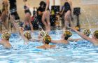 The Canadian University Synchronized Swimming League's Eastern Canadian Divisional was hosted by Queen's Synchro and the ARC this past weekend. The Queen's Blue team was the top performer in the team event placing fifth. The Yellow team placed eighth and the Red team placed 14th. Laurel Lee, Krista Chen and Christina Balch placed first in the novice duet category. Samantha Putos and Kaleigh Burns placed third in the same event.