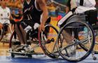 Wheelchair Basketball Canada coach and athlete Corey Smith will be running a clinic for teams of Queen's students before they participate in a game of wheelchair basketball.