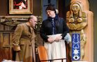 In order to gain the rights to The Mystery of Irma Vep, King's Town Players promised to use only two actors. The stipulation guarantees that the actors are cross-dressing.