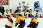 The Queen's Gaels and the Royal Military College Paladins resume a 125-year-old hockey rivalry tonight in Gananoque.