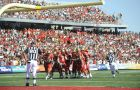 The Laval Rouge et Or football team have won four of the past eight Vanier Cups and are currently ranked first in Canada.